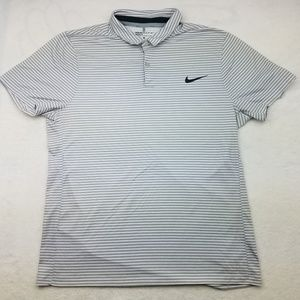 Nike Golf Modern Fit Polo Shirt Dri Fit Large